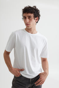 LUCA TEE OPTIC WHITE