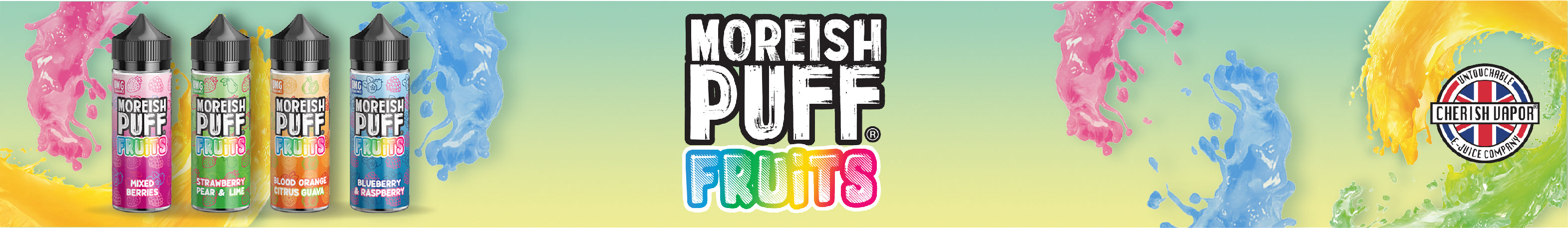 Moreish Puff Fruits E-liquid UK