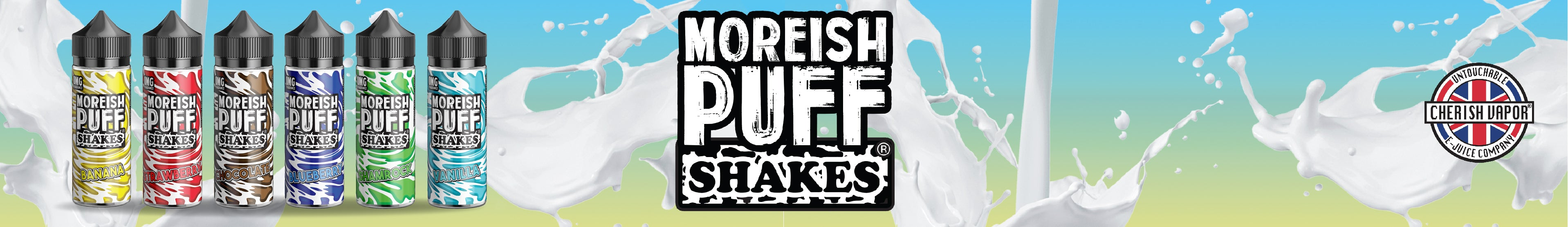 Moreish Puff Shakes
