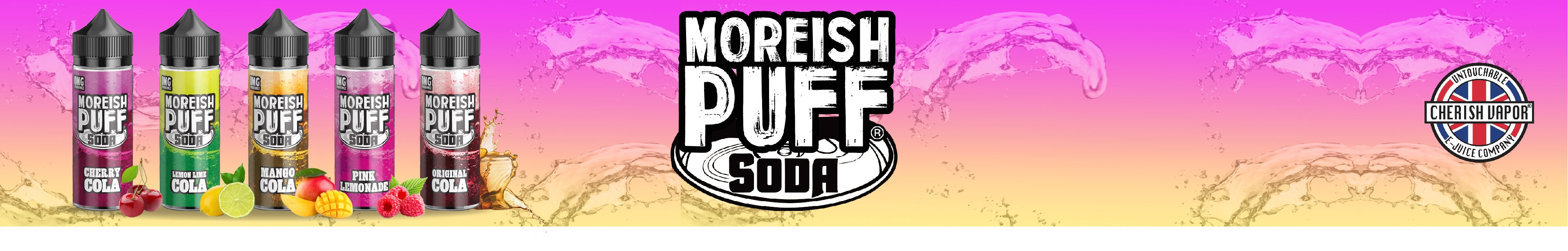 Moreish Puff Soda