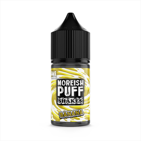 Moreish Puff Banana Shakes 25ml Short Fill