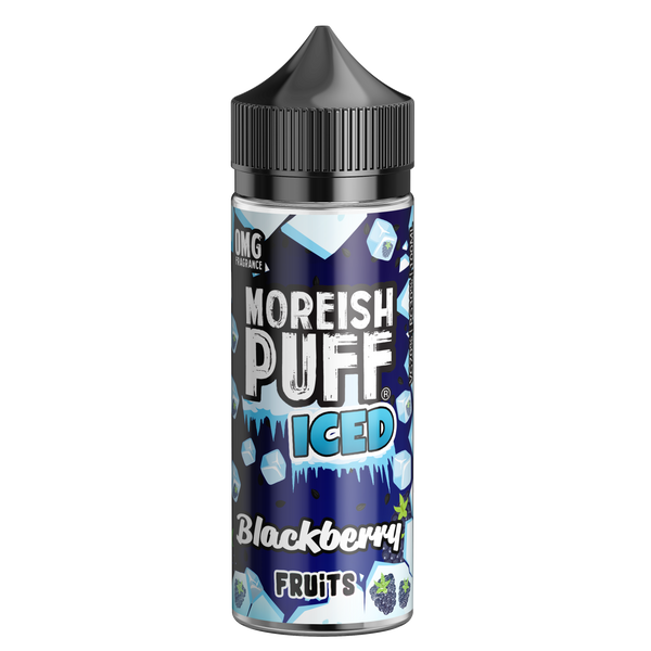 Moreish Puff Iced Blackberry Fruits 100ml Short Fill