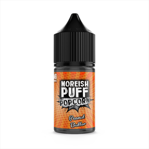 Moreish Puff Peanut Butter Popcorn 25ml Short Fill