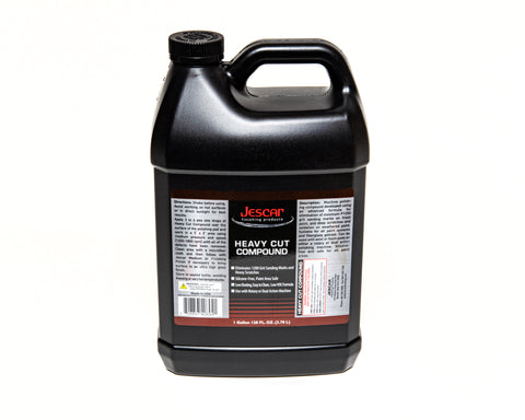 JESCAR HEAVY CUT COMPOUND - 128oz