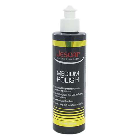 JESCAR MEDIUM POLISH - 8oz