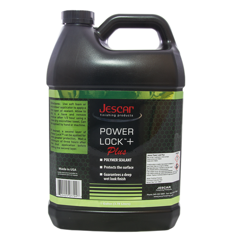 JESCAR POWER LOCK PLUS POLYMER SEALANT - 128oz
