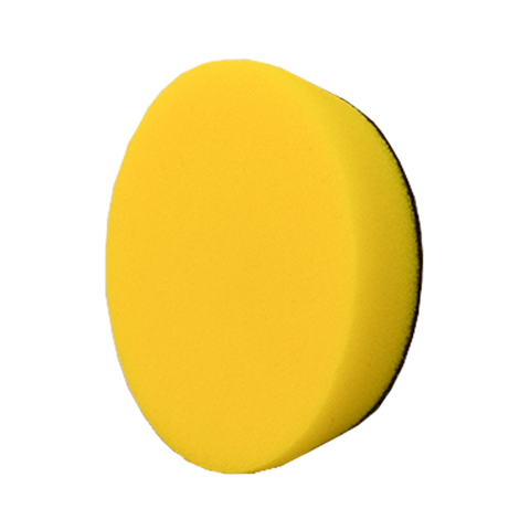 YELLOW FOAM POLISHING PAD - 3.5""