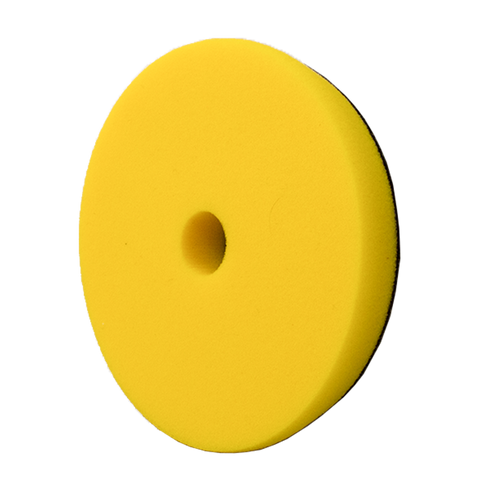 YELLOW FOAM POLISHING PAD - 5.25""