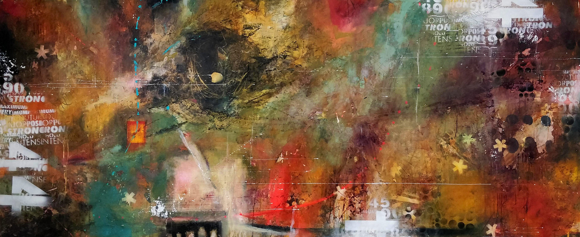 How to save money when creating large encaustic paintings