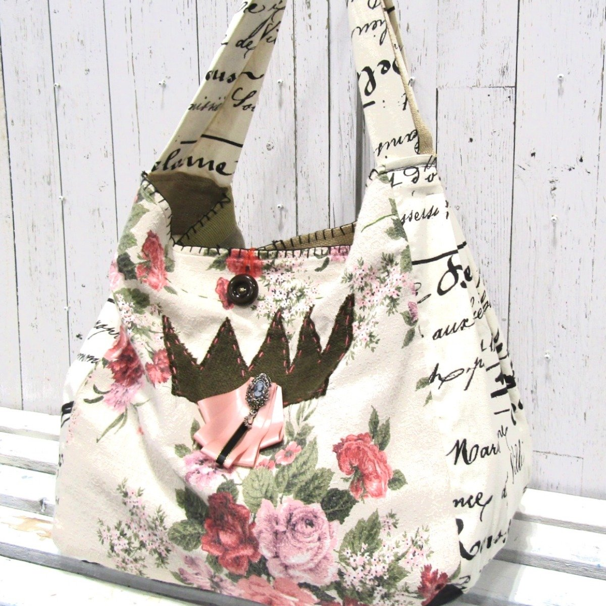 Handmade Artsy OOAK Overnight Bag