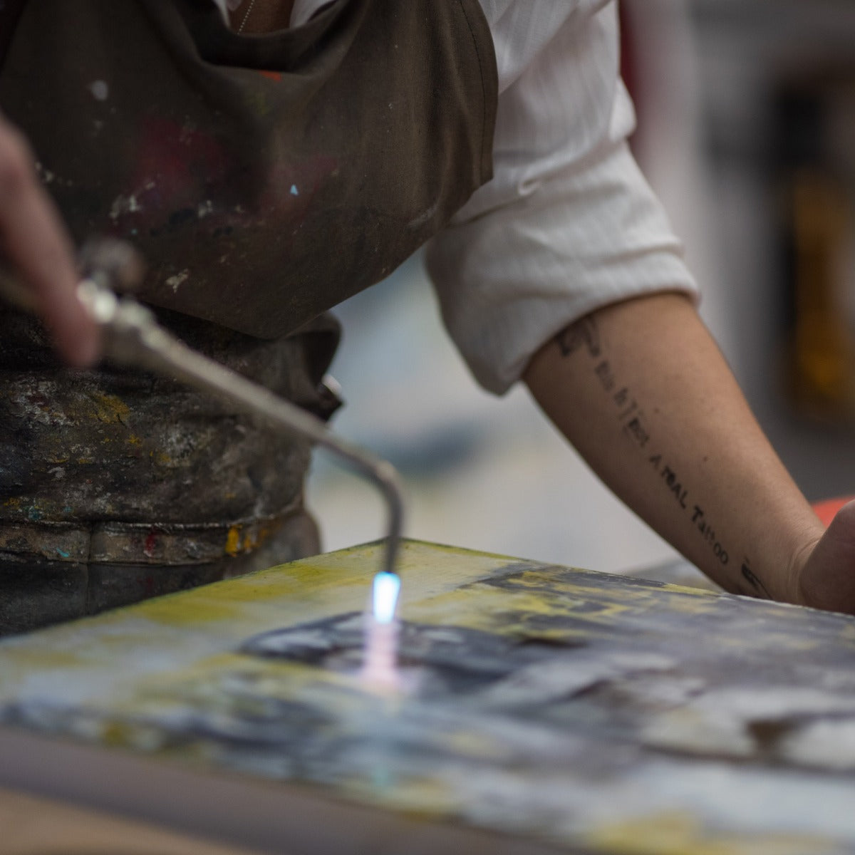 Painting with Fire - A Year-Long Encaustic Journey through e-courses