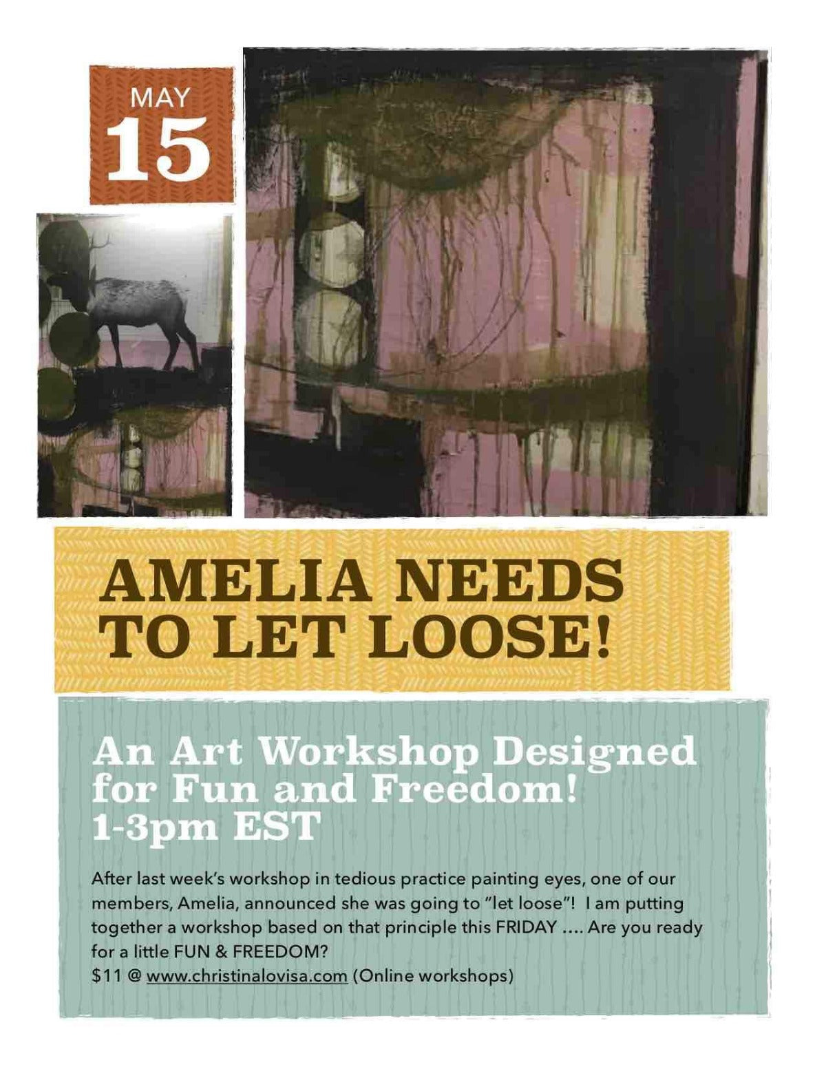 LET LOOSE - Open Studio Workshop