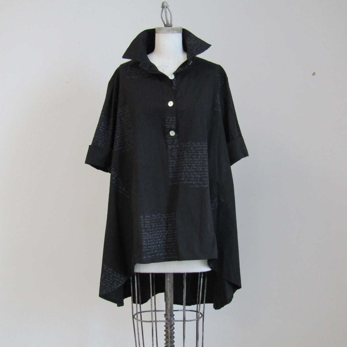 Little black Trench Shirt - Crown PFTP