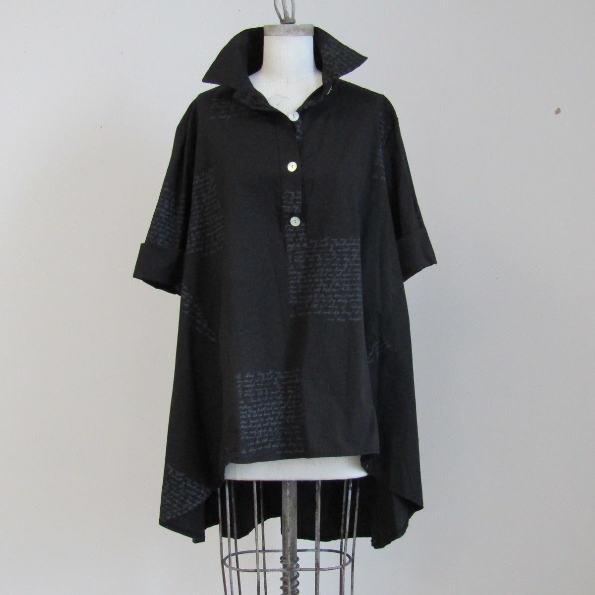 Little black Trench Shirt - Cross PFTP