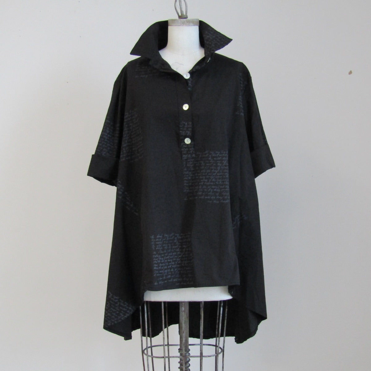 Little black Trench Shirt - Heart PFTP