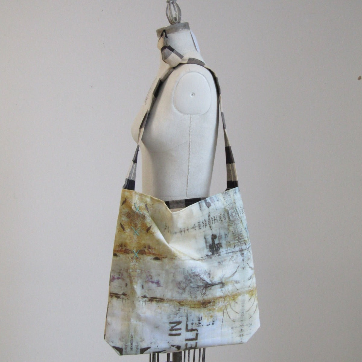Handmade Artsy OOAK Shoulder Bag