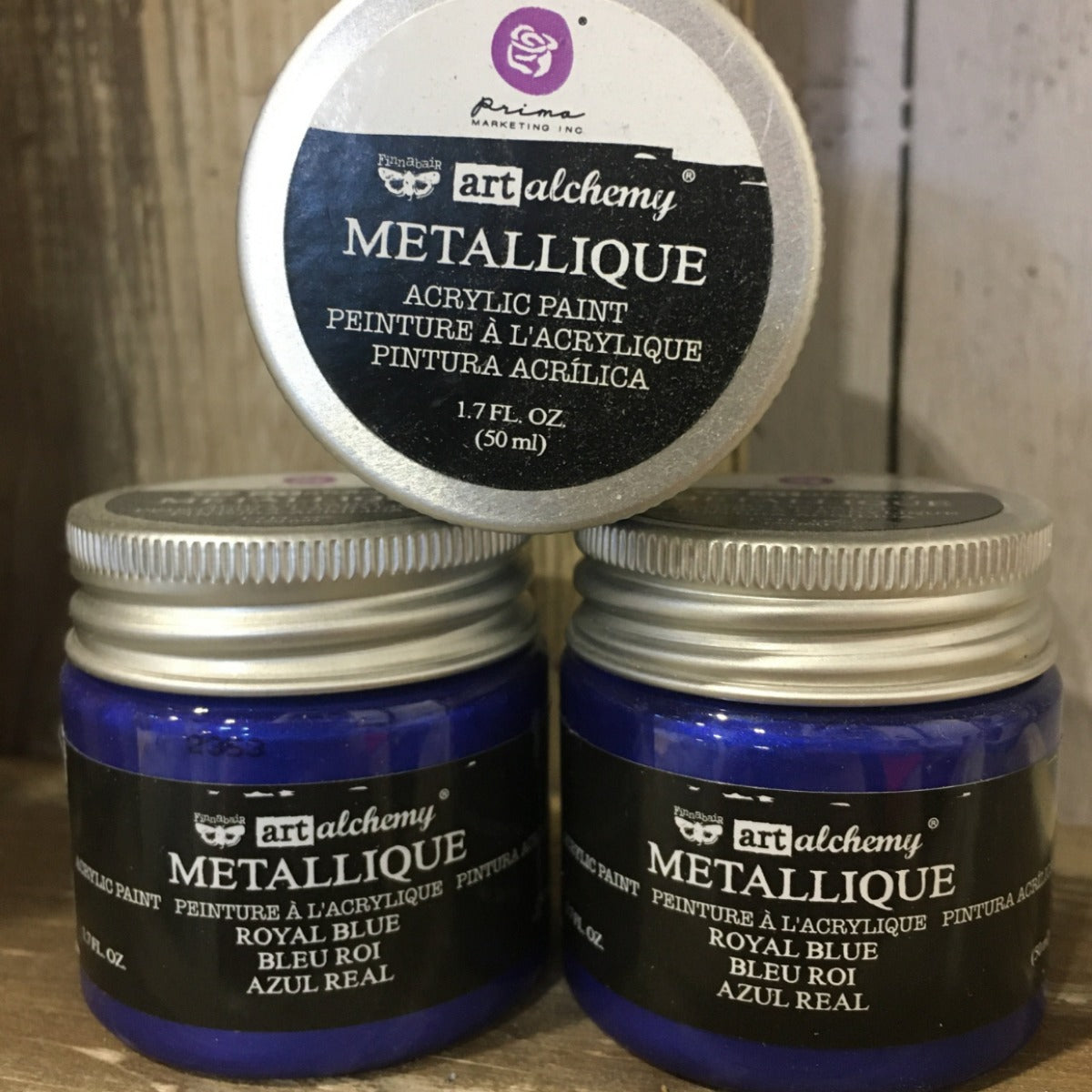 Metallic Acrylic Paints- Royal Blue