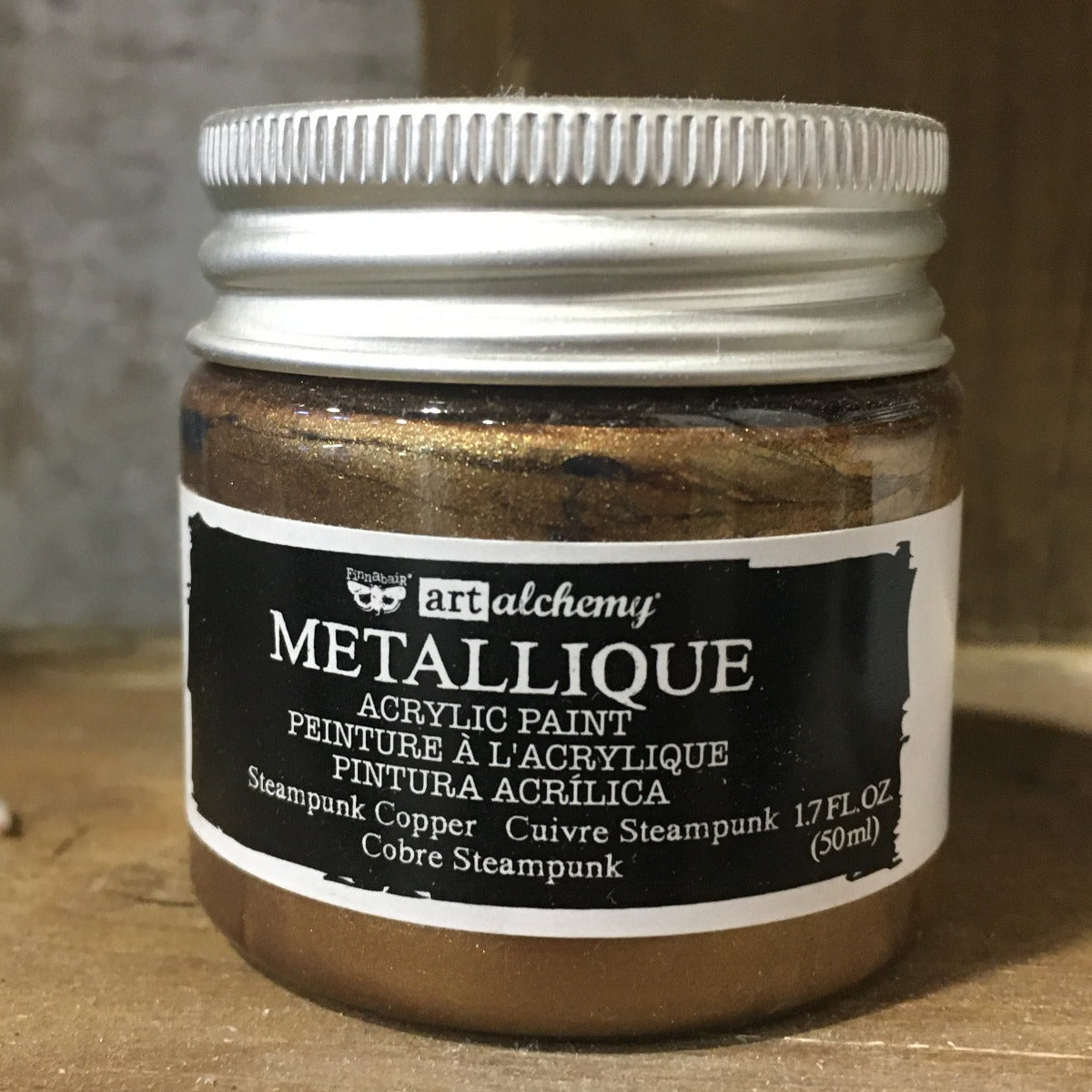 Metallic Acrylic Paints- Steampunk Copper