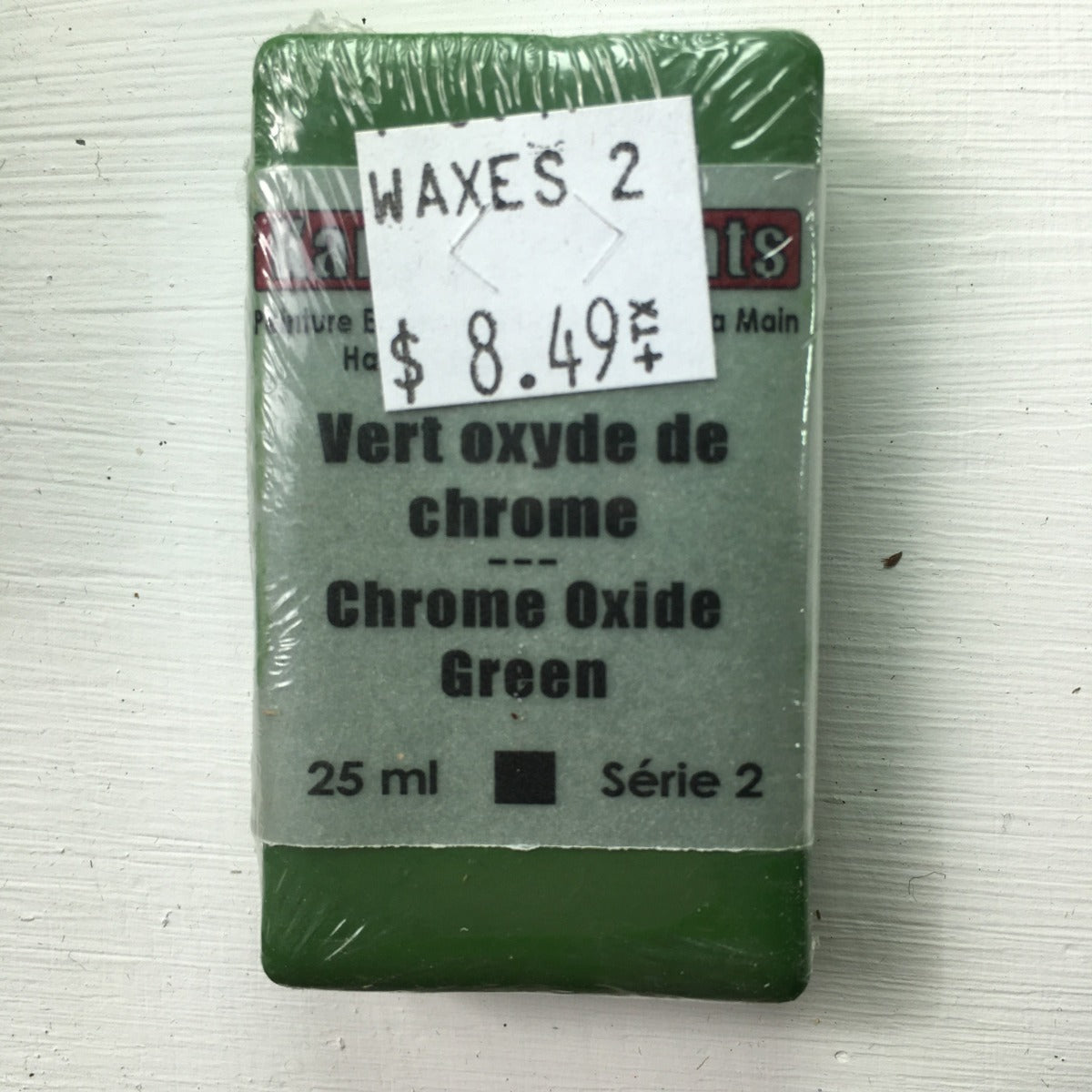 Encaustic Colour Block -Chrome Oxide Green