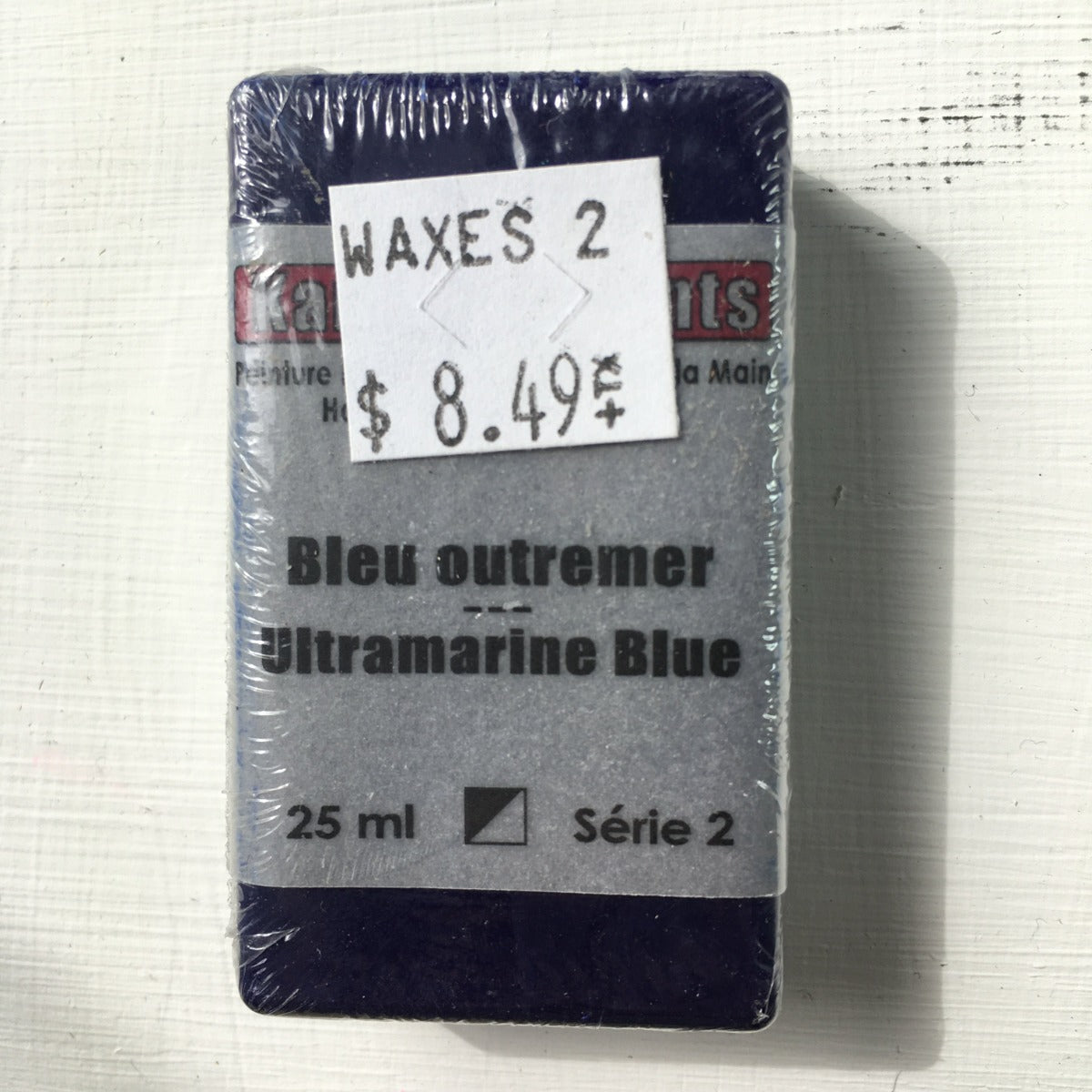 Encaustic Colour Block -Ultramarine Blue