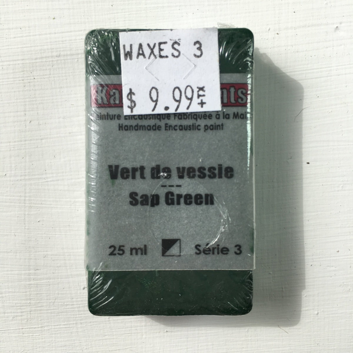 Encaustic Colour Block -Sap Green