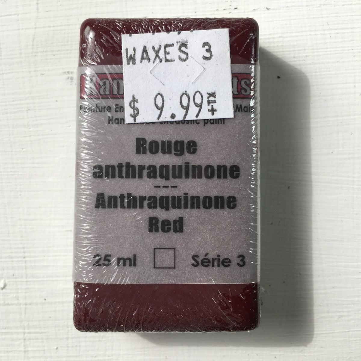 Encaustic Colour Block -Anthraquinone Red