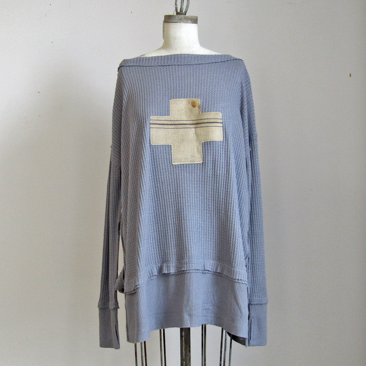 Free People and PFTP - Grey Tunic - Cross
