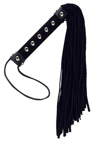 Suede Flogger with Studs (Punishment)