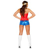 Miss Sexy Super Hero Costume (Slick Costumes)