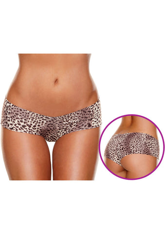 Invisible Bootyshort in Leopard (Hollywood Curves)