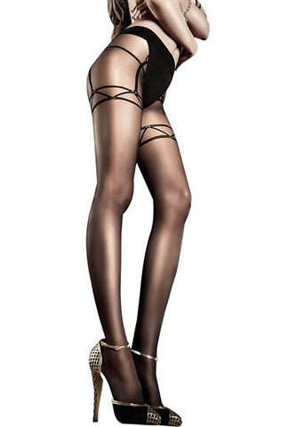 Sheer Minimalist Pantyhose (Baci After Dark Collection)