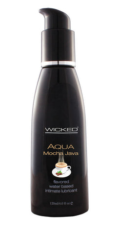 Aqua Mocha Java Flavoured Lubricant (Wicked)