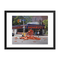Hooker Harvey's Framed Print