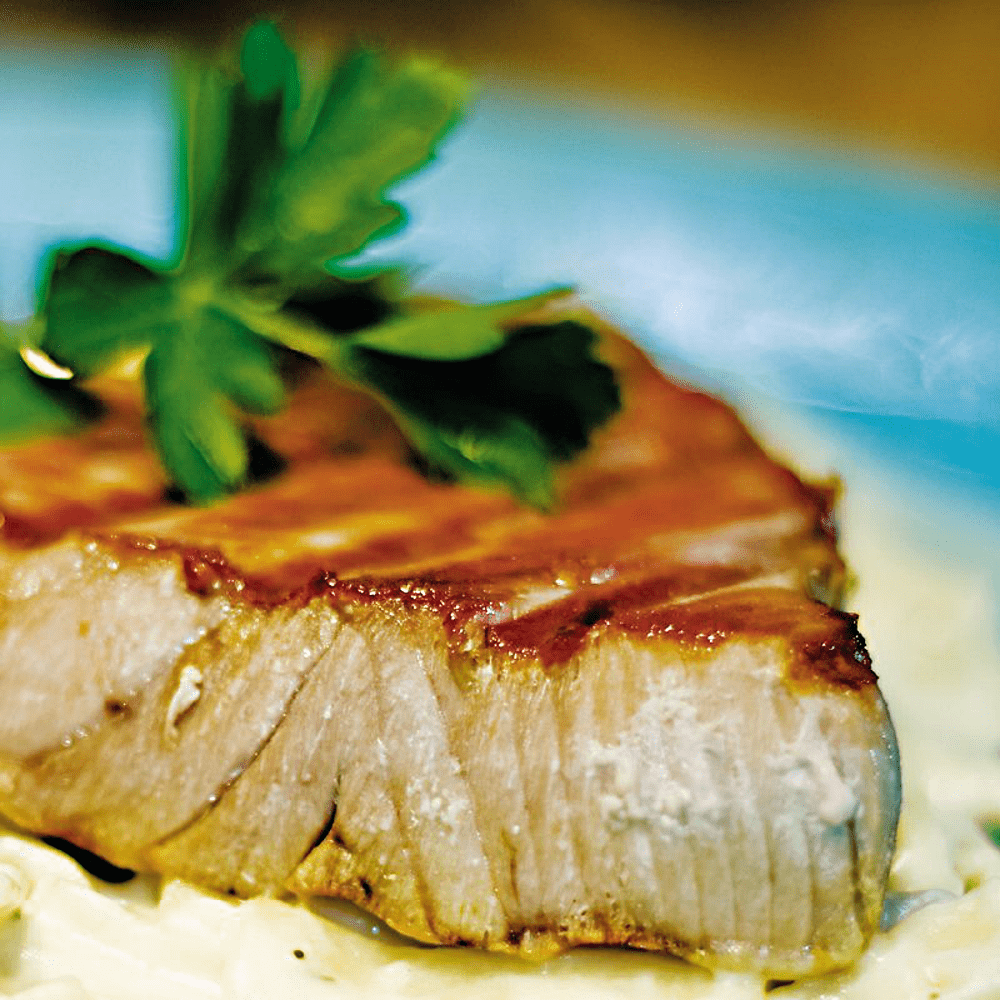 Seared Yellowfin (Ahi) Tuna Steak