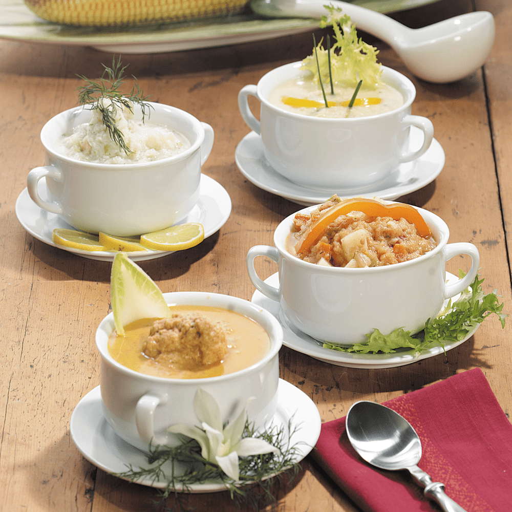 Seafood Soup & Chowder Combo