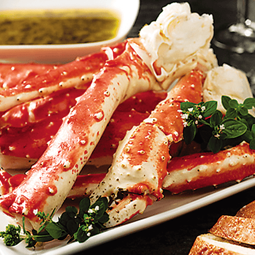Jumbo Split King Crab Legs & Claws