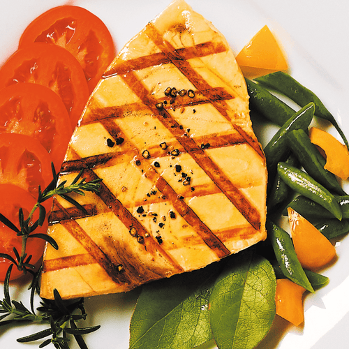 Grilled Swordfish Steak