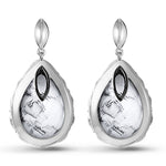 Pear Shape Carrera Mist Earrings