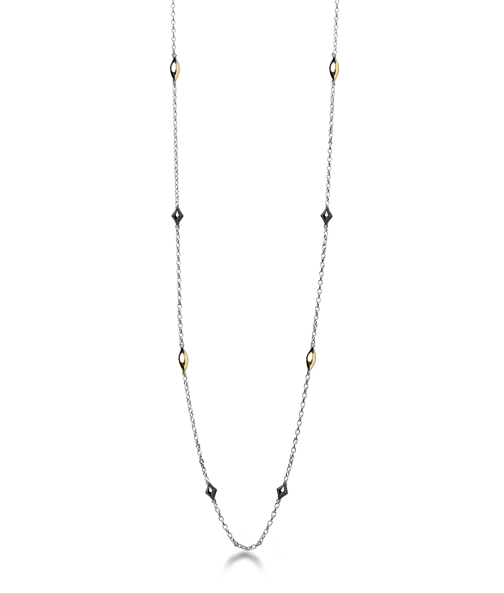Two Tone Layering Chain - 24""