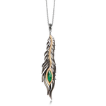 Kallini Feather Pendant