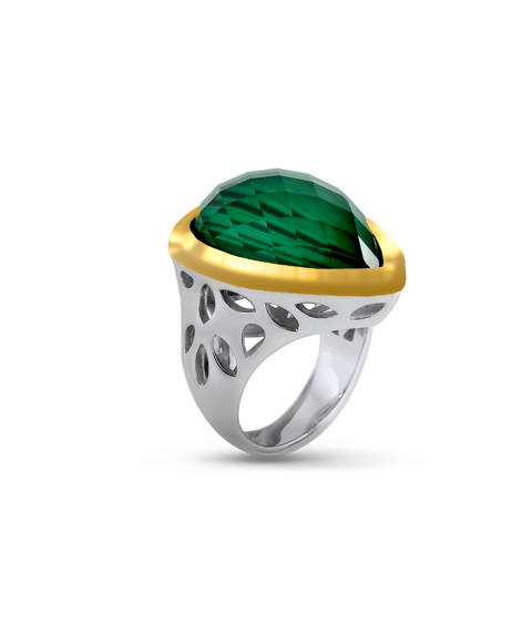 Paradise Malachite Ring