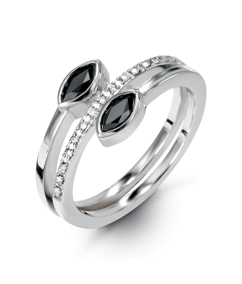 Amara Diamond Bypass Ring