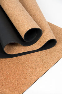 The Heiwa Eco Friendly Cork Yoga Mat