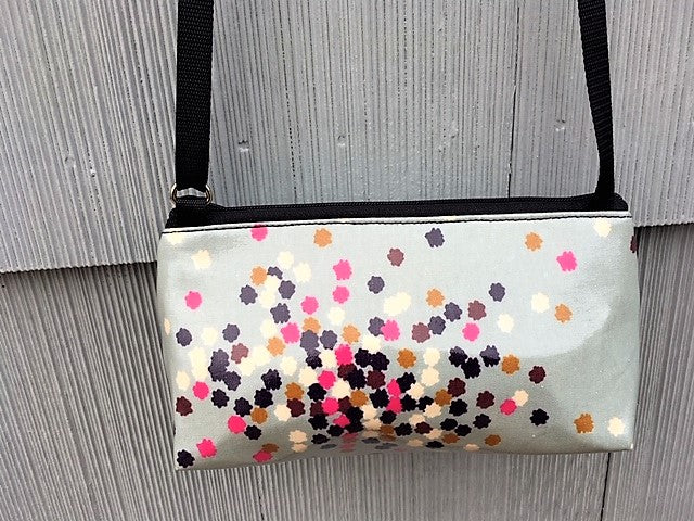Mini Purse in Confetti Print