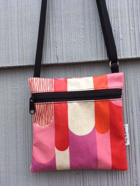 Travel Purse in Pink