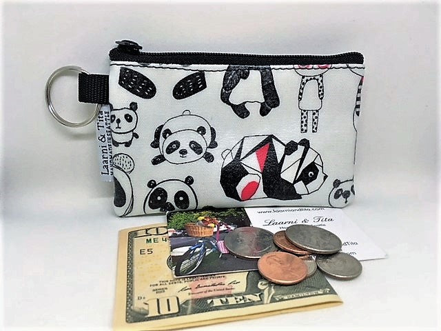 Coin Purse in Cute Pandas