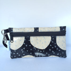 Large Wristlet in Fox/Wolf Under Moonlight