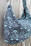 Hobo Bag in Horse Design Print