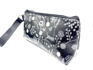 Makeup Bag in Silver Fox