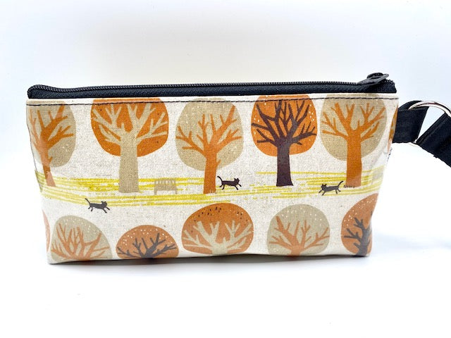 Makeup Bag in Cats in the Park
